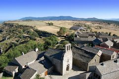 Vila medieval Imagem de Stock Royalty Free