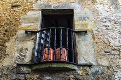 Vila medieval de Santillana Del Mar na Espanha Foto de Stock