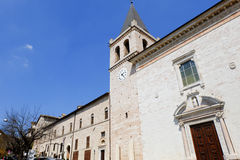 Vila medieval de Spello em Itália Foto de Stock Royalty Free