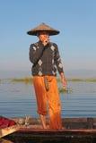 Vila, når du har fiskat Fotografering för Bildbyråer