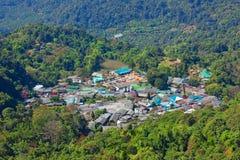 Vila na floresta. Imagem de Stock Royalty Free