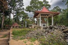 A vila na selva Imagem de Stock