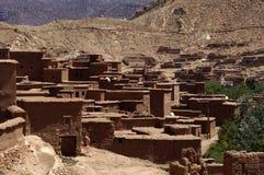Vila no deserto Imagens de Stock Royalty Free