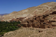 Vila no deserto Imagens de Stock