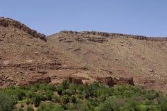 Vila no deserto Fotografia de Stock Royalty Free