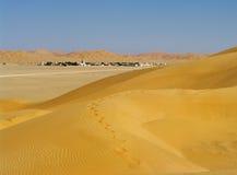 Vila no deserto, Oman imagens de stock royalty free