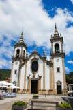 Vila Nova de Cerveira, Portugal. July/12/2008. San Cipriano church, Vila Nova de Cerveira. Portugal Stock Image