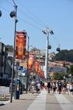 Vila Nova de Gaia in Porto, Portugal royalty-vrije stock fotografie