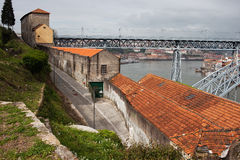 Vila Nova de Gaia Urban Scenery in Portugal Stock Images