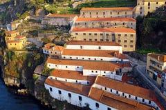 Vila Nova de Gaia vinkällare, Portugal royaltyfri foto