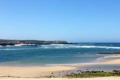 Vila Nova de Milfontes beach, Portugal Stock Photos