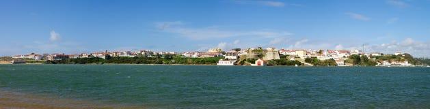 Vila Nova de Milfontes panorama Stock Photo