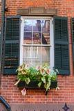 Vila ocidental em construções de New York Manhattan Imagens de Stock Royalty Free