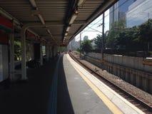 Vila Olímpia Station Stock Photo