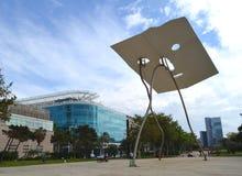 Vila olímpica do metro, Barcelona, spain Imagem de Stock