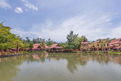 Vila oriental, Langkawi, Malaysia Imagens de Stock