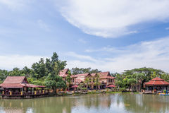 Vila oriental, Langkawi, Malaysia Fotografia de Stock Royalty Free