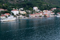 Vila pequena em Montenegro Fotografia de Stock