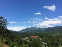 Vila pequena em uma floresta úmida tropical Foto de Stock Royalty Free