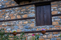 Vila pequena, montanha de Olympus, Grécia Fotos de Stock Royalty Free
