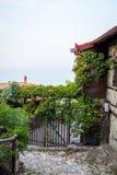 Vila pequena, montanha de Olympus, Grécia Imagens de Stock