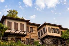 Vila pequena, montanha de Olympus, Grécia Foto de Stock Royalty Free