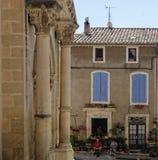 Vila quieta de Provence no meio-dia fotografia de stock royalty free