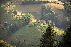 Vila romena Foto de Stock