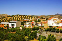 Vila rural na Andaluzia, Spain Imagens de Stock Royalty Free