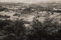 Vila sérvio durante o verão Imagem de Stock Royalty Free