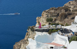 Vila Santorini de Oia Fotos de Stock Royalty Free
