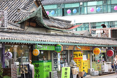 Vila Seoul de Bukchon Fotografia de Stock Royalty Free