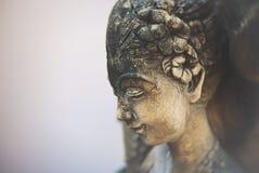 Vila statyn royaltyfri foto