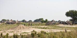 Vila sudanesa sul Fotos de Stock