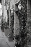 Vila típica de San Gimignano Fotografia de Stock Royalty Free