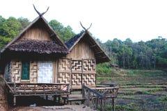 Vila tailandesa de Hilltribe Fotos de Stock Royalty Free
