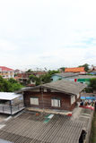 Vila tailandesa velha fotos de stock