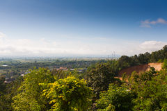 Vila Thaton na Tailândia, airview Imagens de Stock