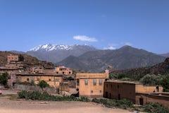 Vila Tinmel do Berber no atlas fotos de stock