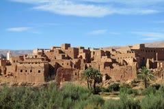 Vila tradicional em Marrocos Foto de Stock