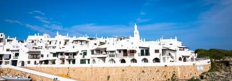 Vila tradicional em Menorca, Espanha Foto de Stock Royalty Free