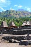 Vila tradicional Indonésia Foto de Stock