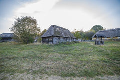 Vila ucraniana étnica velha Imagem de Stock Royalty Free