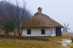 Vila ucraniana Imagem de Stock Royalty Free