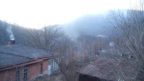 Vila Vahagnadzor em Lori, Armênia Foto de Stock Royalty Free