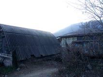 Vila Vahagnadzor em Lori, Armênia Imagens de Stock Royalty Free