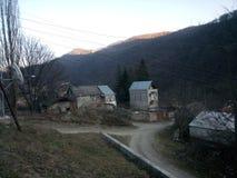 Vila Vahagnadzor em Lori, Armênia Foto de Stock