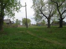A vila velha Foto de Stock