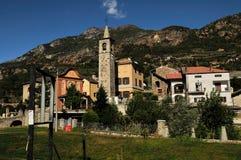 Vila velha no vale de Aosta, Italy Imagem de Stock Royalty Free