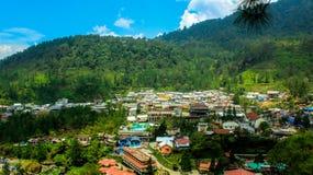 A vila verde em Indonésia imagem de stock royalty free